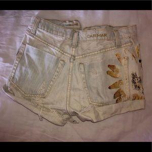 Carmar Shorts - Carmar denim shorts.